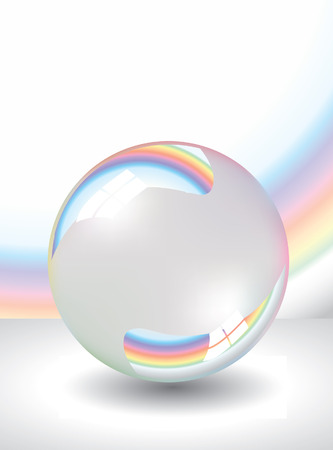 boll:  Soap bubble Illustration