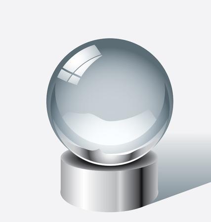 Crystal ball  Иллюстрация