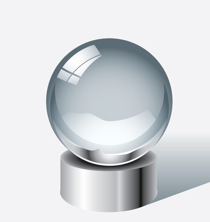 Crystal ball Фото со стока - 5525520