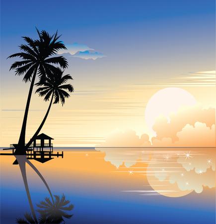 Sunset. Фото со стока - 5525531