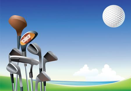 golf Иллюстрация