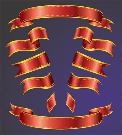 ribbons Stock Vector - 5525494