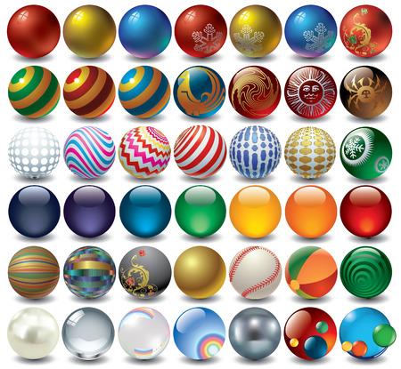 decorative balls Stock Vector - 5525545