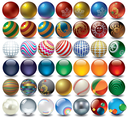 decorative balls Stock Vector - 5525545