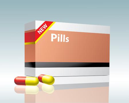 medicament: p�ldoras  Vectores