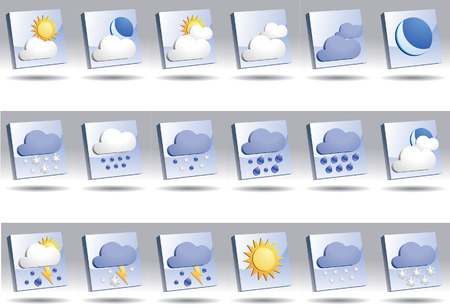 Weather icon Stock Vector - 6580882
