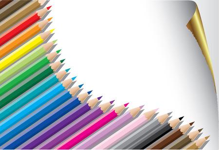 gamut:  pensils