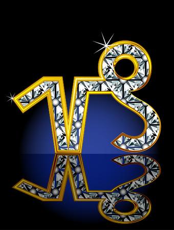 capricornio: Signo del zod�aco, representado en forma de joyer�a.  Vectores