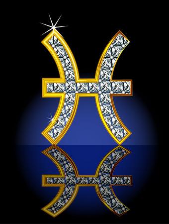 aries: Signo del zod�aco, representado en forma de joyer�a.  Vectores