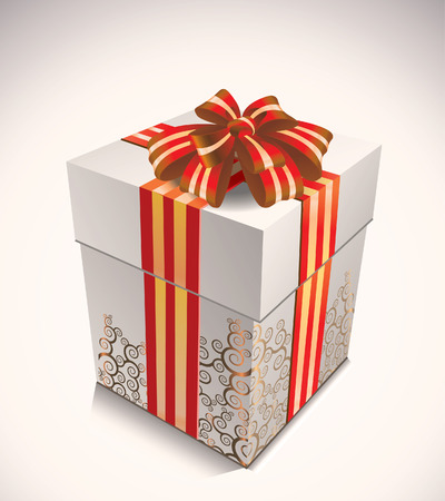holiday shopping:  gift box