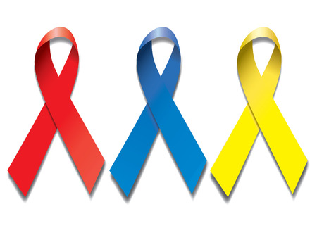 ribbons AIDS  Vector