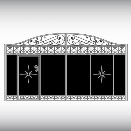 鍛造製品  イラスト・ベクター素材