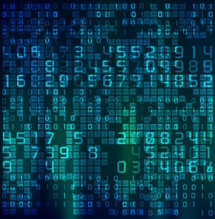 tech background: Fondo abstracto de la tecnolog�a.