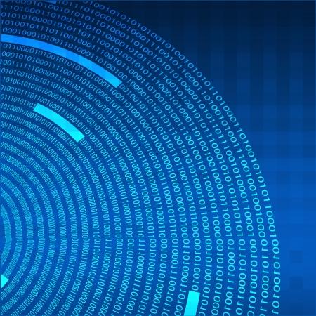 codigo binario: Fondo abstracto de la tecnolog�a.