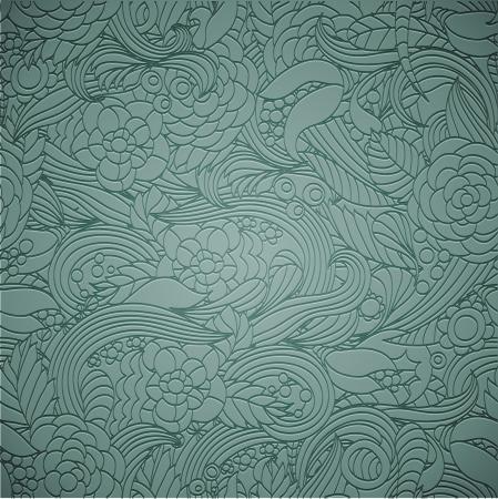 repeatable: Letterpress transparent seamless pattern Illustration