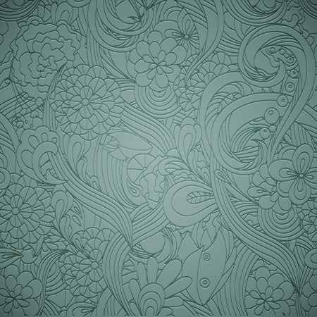 letterpress: Letterpress transparent seamless pattern Illustration