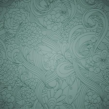 Letterpress transparent seamless pattern Illustration