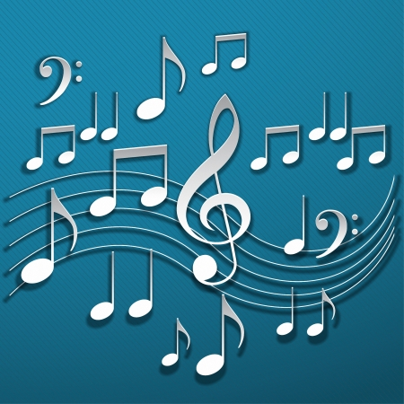 alt: Music notes