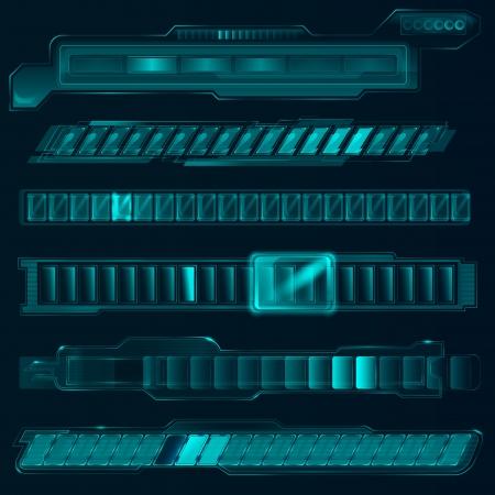 Abstract tech illustration.