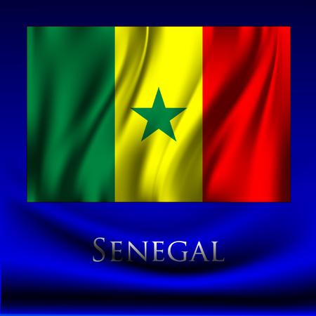 senegal: Senegal Illustration