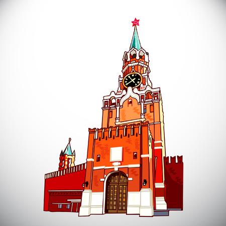 Kremlin Illustration