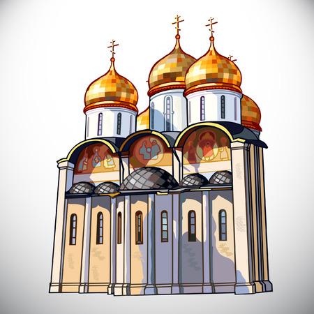 Church.Golden ring