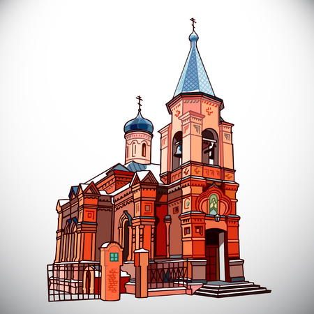 Temple of the Bishop of Voronezh
