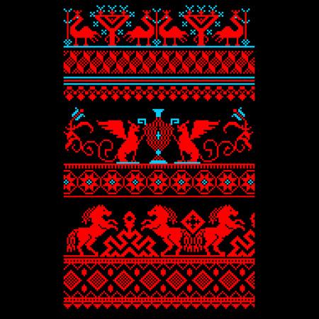 Ornamento ucraniano Foto de archivo - 85710068