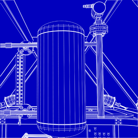 Industrial shop Иллюстрация