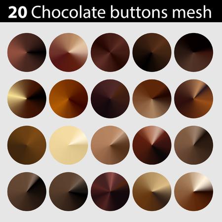 Chocolate battons mesh