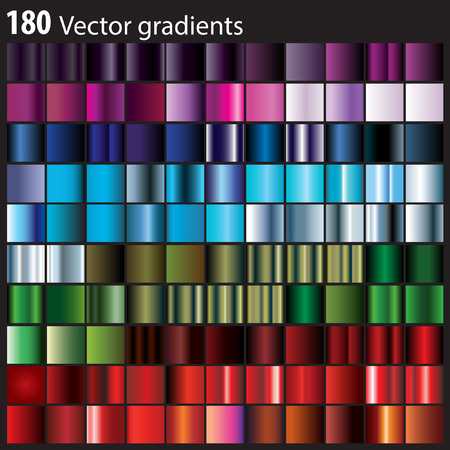 180 colorful gradients