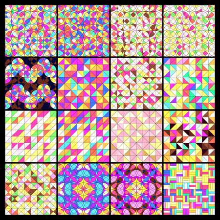 Abstract geometric pattern  Иллюстрация