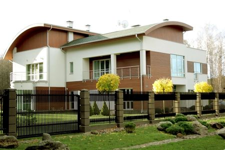New Modern Home Architecture in Latvia