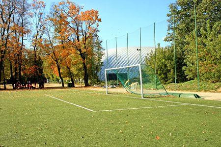 Soccer gate photo