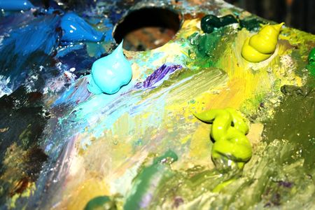 embody: Artists oil paints
