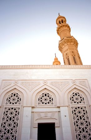Muslim church in Hughada, Egypt Stock Photo