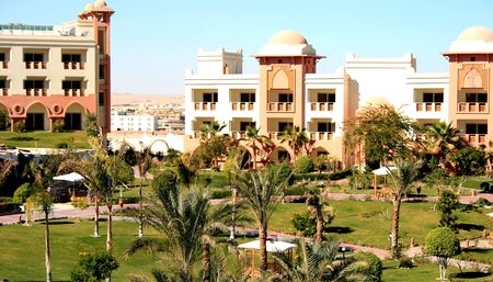 Hotel in moroccan style in Egypt photo