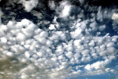 spacial: Beautiful sky with interesting cloud