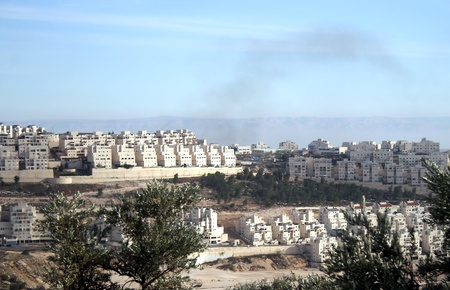 Panorama of Jerusalem city, Israel  Stock Photo