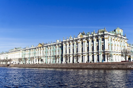 From the 1760s onwards the Winter Palace was the main residence of the Russian Tsars. Many visitors also know it as the main building of the Hermitage Museum