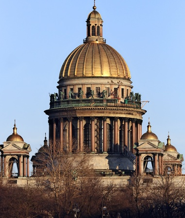 St. Isaacs Cathedral, Saint-Petersburg, Russia photo