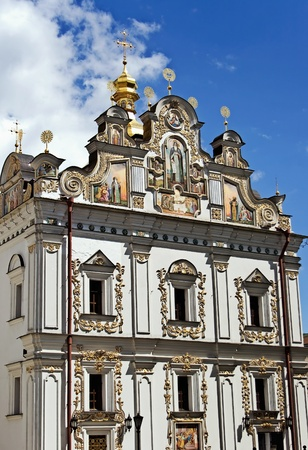 Church in Kyiv-Pechersk Lavra, Ukraine photo