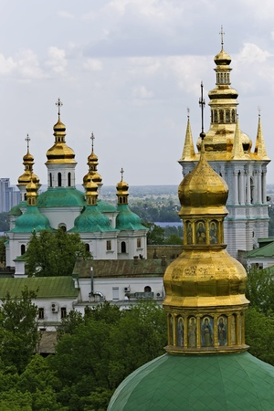 Church in Kyiv-Pechersk Lavra, Ukraine photo