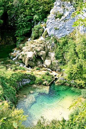 Plitvice Lakes - National Park in Croatia photo