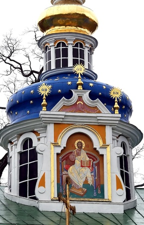 Saint-Assumption Pskovo-Pechersky monastery - one of the largest and rich in Russia friaries with centuries-old history