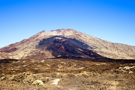 Spain  is the highest volcano  3718 m  of the Canarian archipelago  photo