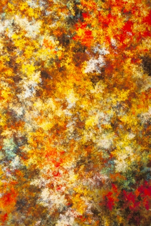 Abstract picture in autumn colors close-up Stock Photo - 16334857