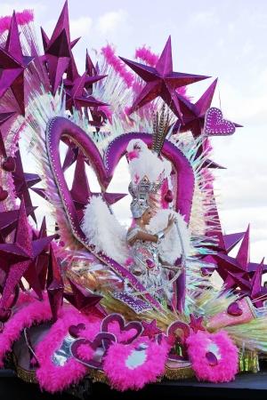 Carnival in Santa Cruz de Tenerife, Spain - February 21, 2012 Editorial