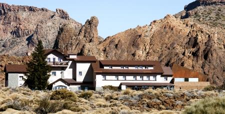 Hotel near El Teide volcano Tenerife island, Spain