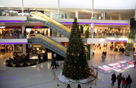 festones: Amplio y moderno centro comercial Morocco Mall de Casablanca espacios grandes de piso, escaleras mec�nicas y enorme variedad de productos para todos los gustos